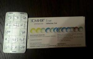 Эсмия таблетки при миоме матки отзывы